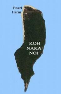 Aan de noord en noordwest zijde van Koh Naka Noi ligt een lang prachtig ongerept zandstrand.