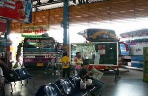 Phuket Bus Terminal 1 ligt in het centrum van Phuket town.
