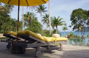 Ook in het natte seizoen zijn er op Koh Kood zonnige momenten te beleven.