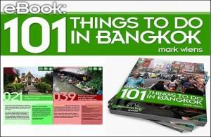 Het eBook '101 things to do in Bangkok' van Mark Wiens is te koop op zijn eigen website.