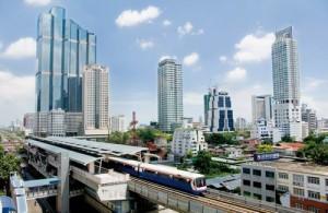 Zoek je in Bangkok een goede locatie, zorg dat deze dan goed bereikbaar is met het openbaar vervoer.