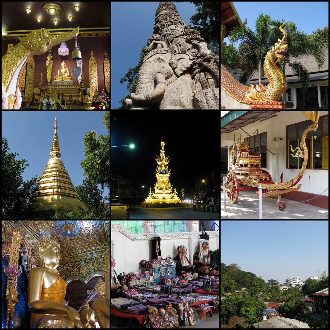 Chiang Rai werd ruim 700 jaar geleden gesticht en heeft een rijk verleden.
