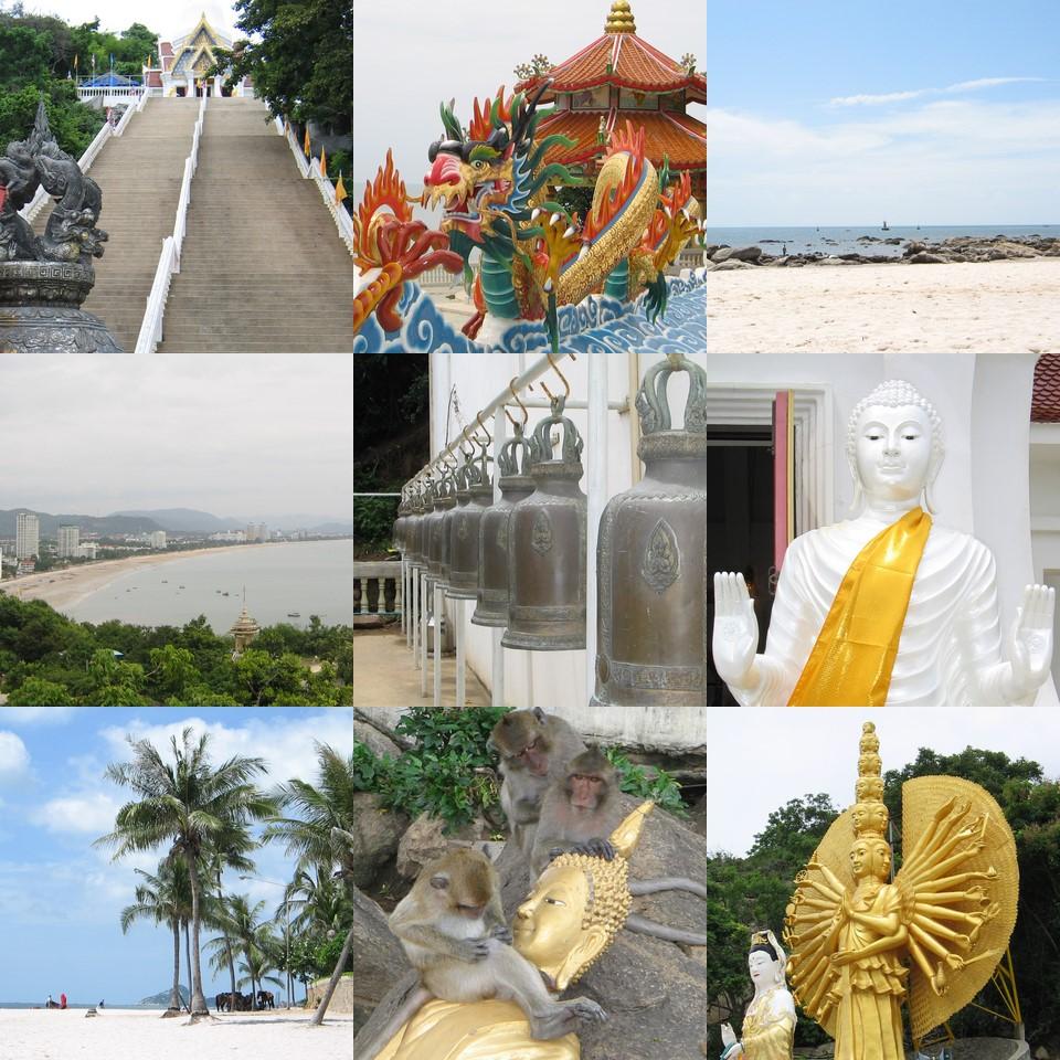 Hua Hin staat bekend als een levendige badplaats met easy living.
