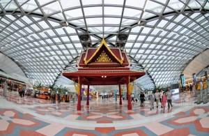 Suvarnabhumi International Airport Bangkok is ook bekend als New Airport Bangkok.