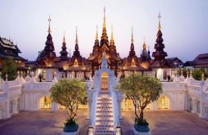 Het ontwerp van Dhava Dhevi Chiang Mai is gebaseerd op architectonische en culturele invloeden van de Lanna cultuur.