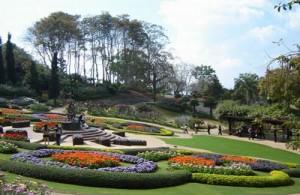 De Mae Fah Luang Garden is de mooiste gematigde bloemen en planten tuin in Thailand.