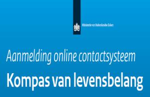 Aanmelden voor het Kompas online crisissysteem is kosteloos, eenmalig en vrijblijvend.