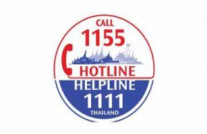 Buitenlanders in Thailand kunnen voor hun problemen en klachten 24 uur per dag terecht bij hotline 1155 and helpline 1111.