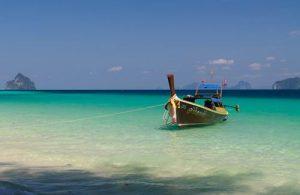 Koh Kradan is een perfecte plek voor een idyllische vakantie.