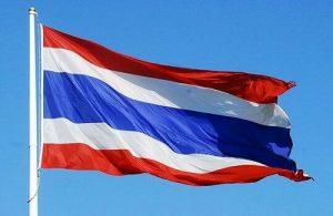 Nationale vlag van Thailand