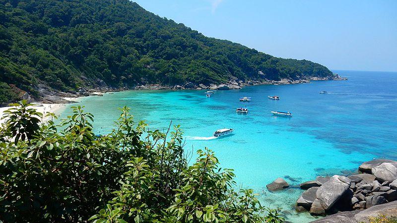 De Similan eilanden zijn een geliefde duikbestemming.